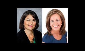 Aileen Black and Gigi Schumm, hosts of Women of Washington