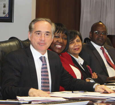 Dr. David Shulkin, the under secretary of health at the VA, at an October leadership meeting at VA headquarters in Washington, D.C.