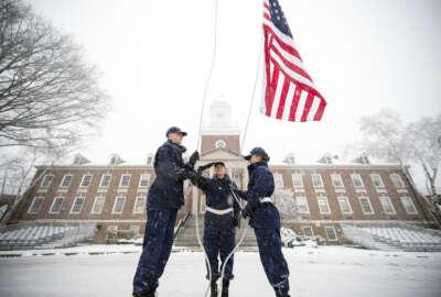 coast guard academy, government shutdown