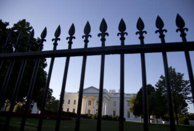 FILE - In this Sept. 22, 2014, file photo, the White House is photographed from Pennsylvania Avenue in Washington. Hillary Clinton should be in jail. Donald Trump threatens America's very existence. These are not fringe opinions. They are widespread views across the nation's bitter political divide. That means that on Nov. 9, the morning after Election Day tens of millions of Americans will awaken to the realization that someone they loathe will be the 45th president of the United States. (AP Photo/Carolyn Kaster, File)