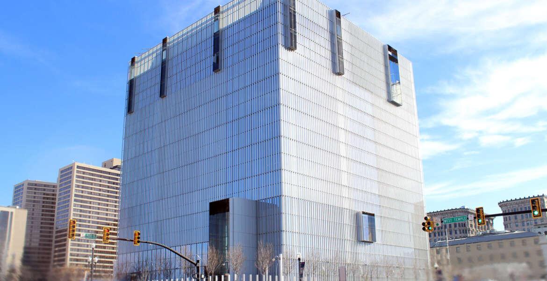 The U.S. Courthouse Annex in Salt Lake City, Utah, also won a GSA Design Award for architecture. (GSA)