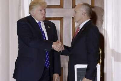 Andy Puzder, Donald Trump