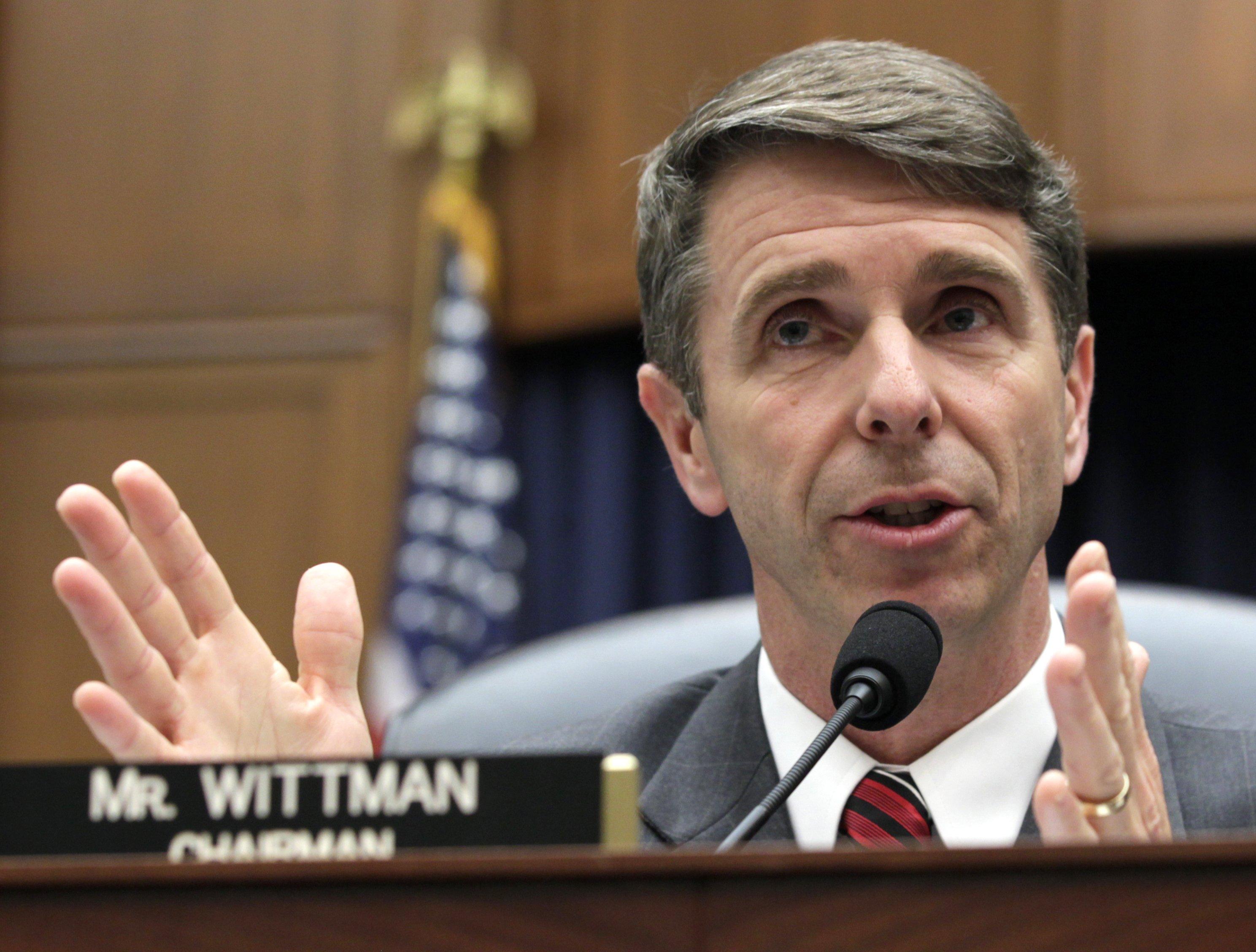 Rep. Rob Wittman (R-Va.)/ AP photo/Carolyn Kaster