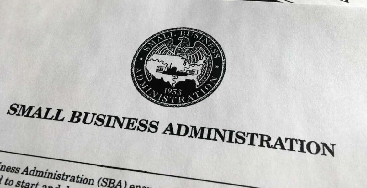 A portion of President Donald Trump's first proposed budget, focusing on the Small Business Administration, and released by the Office of Management and Budget, is photographed in Washington, Wednesday, March 15, 2017. (AP Photo/Jon Elswick)