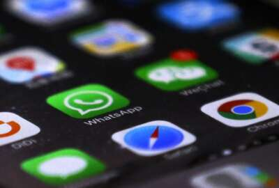 WhatsApp is seen with other mobile apps on a smartphone in Beijing, Tuesday, July 18, 2017. Users of WhatsApp in China and security researchers reported Tuesday widespread service disruptions amid fears that the popular messaging service may be at least partially blocked by authorities in the world's most populous country. The app was partly inaccessible unless virtual private network software was used to circumvent China's censorship apparatus, known colloquially as The Great Firewall. (AP Photo/Andy Wong)