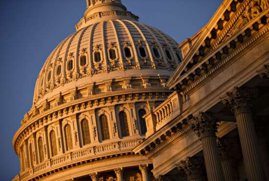 FILE - In this Sept. 30, 2013, file photo, the morning sun illuminates the U.S. Capitol in Washington. Sen. John McCain's opposition to the GOP's last-ditch effort to repeal and replace the Obama health law has dealt a likely fatal blow to the legislation — and perhaps to the Republican Party's years of promises to kill the program. (AP Photo/J. Scott Applewhite, file)