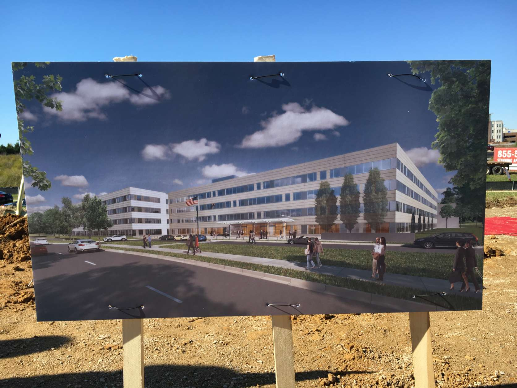 Groundbreaking for USCIS consolidated headquarters in Maryland