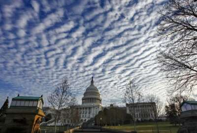 The Capitol is quiet as lawmakers finished legislative business for the year and passed a temporary spending bill to avoid a government shutdown, in Washington, Friday, Dec. 22, 2017. Congress is putting off until 2018 some of its most disputed issues, including immigration, health care and the federal budget. (AP Photo/J. Scott Applewhite)