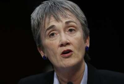Heather Wilson, security clearance