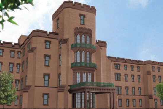 St. Elizabeths Center Building Rendering (Source: Goody Clancy)