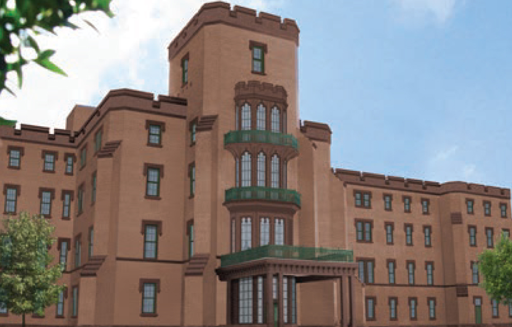 St. Elizabeths Center Building Rendering (Source: Goody Clancy)