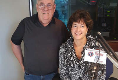 Group photo of Mark Amtower and Lisa Dezzutti