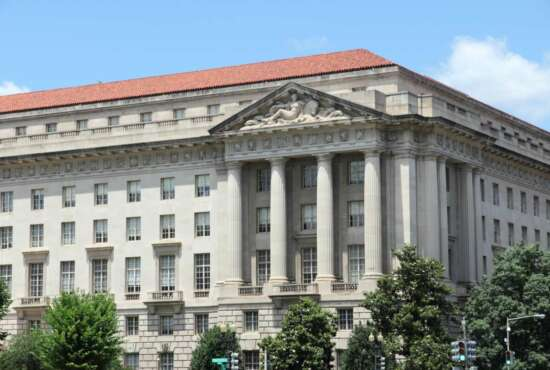 Environmental Protection Agency (EPA) at Federal Triangle in Washington D.C.