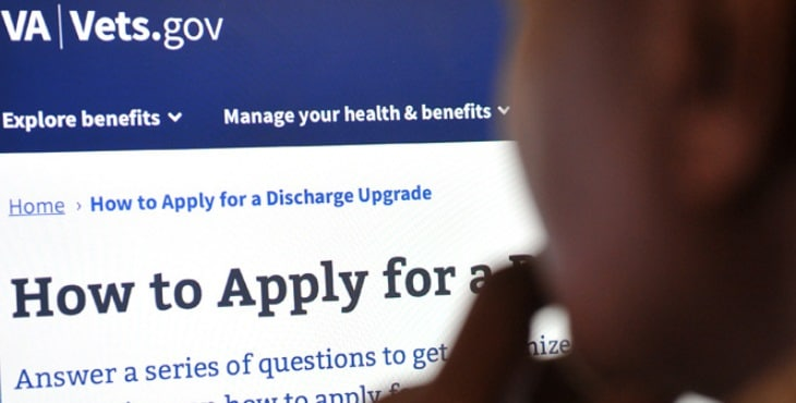 New online tool provides Veterans with customized instructions for discharge upgrade process