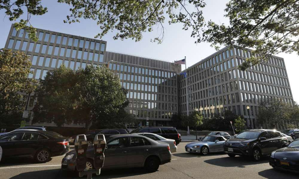 The Office of Personnel Management headquarters in Washington, D.C. (AP/Jacquelyn Martin)