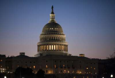 The Capitol is seen at dawn in this March, 17, 2017 photo, in Washington.  The Republican effort to shove broad, election-year immigration legislation through Congress has collapsed, but their ordeal over the politically searing issue is far from finished.  (AP Photo/J. Scott Applewhite)