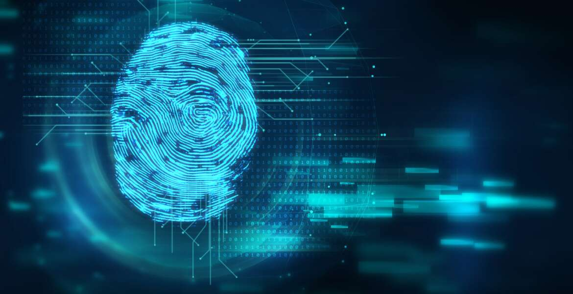 Finger print Scanning Identification System. Biometric Authorization and Business