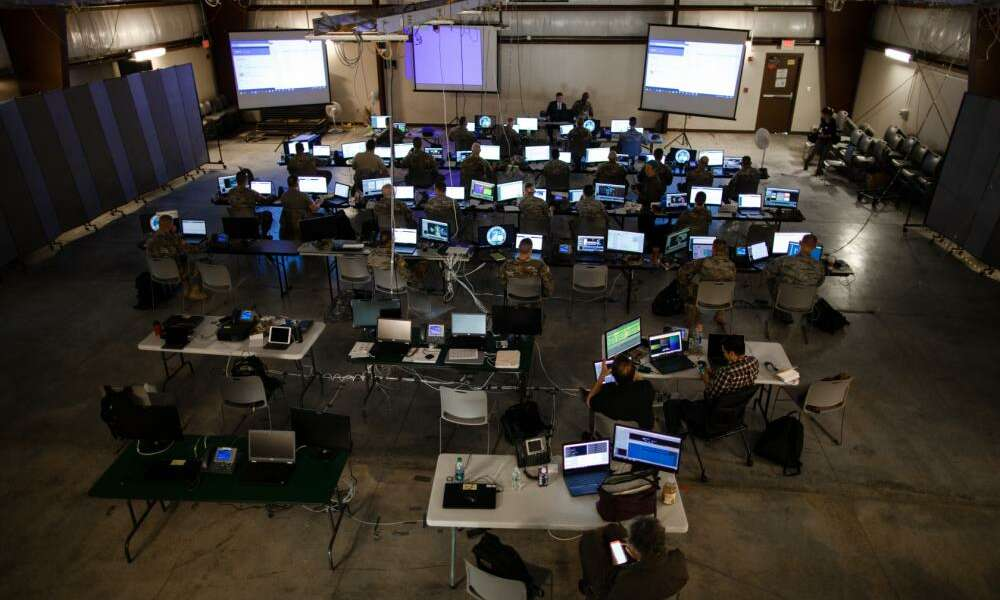 More than 800 service members and civilians gathered at Camp Atterbury for Cyber Shield 18 at Camp Atterbury, Indiana from May 6-18, 2018.