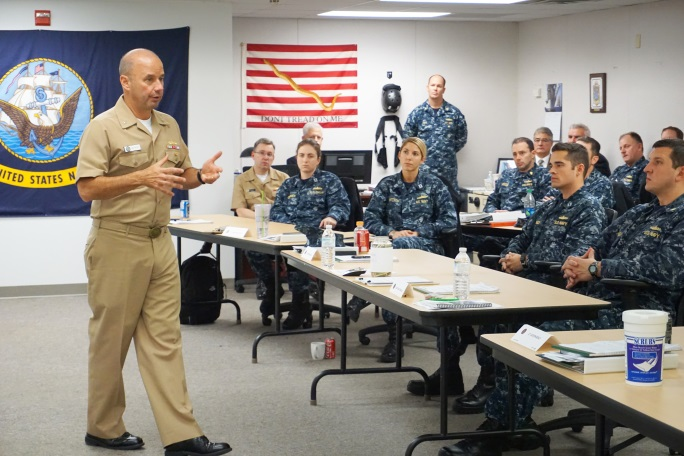 Navy jumps on the training reduction train for 2019