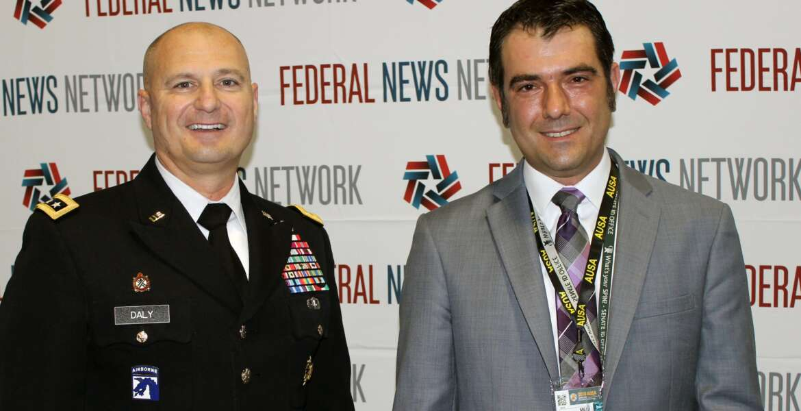 Jared Serbu, Ed Daly, US Army