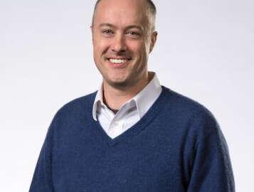 Head shot of Ian Buck