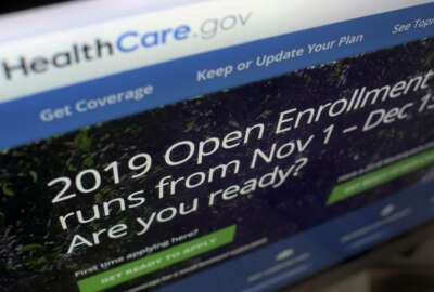 This Tuesday, Oct. 23, 2018 photo shows HealthCare.gov website on a computer screen in New York. The sign-up period for next year's individual health insurance coverage runs from Nov. 1 to Dec. 15. Picking a plan can initially involve several trips to websites like healthcare.gov just to understand the options. Shoppers who want to stick with the same plan must scrutinize it for changes. (AP Photo/Patrick Sison)