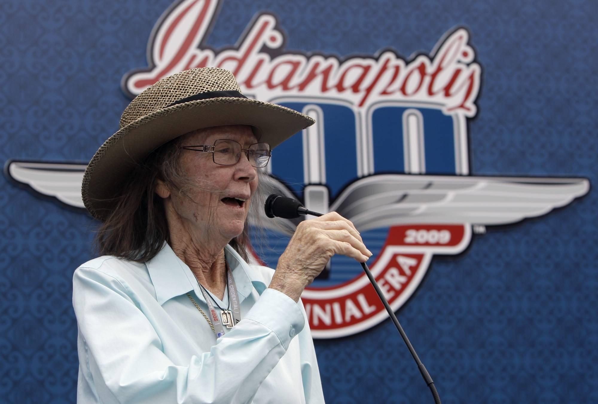 Mari hulman george indy s quiet pioneer dies at 83 for Indianapolis motor speedway indianapolis in