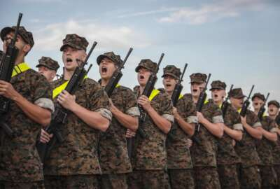 Marines-India Company-training-soldiers-troops-recruits