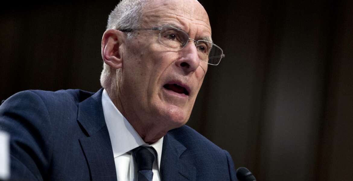 Director of National Intelligence Daniel Coats testifies before the Senate Intelligence Committee on Capitol Hill in Washington Tuesday, Jan. 29, 2019. (AP Photo/Jose Luis Magana)