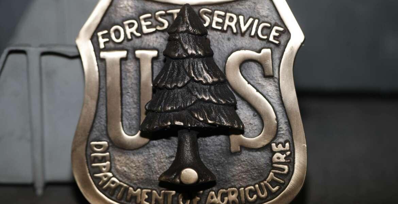 US Forest Service door knocker