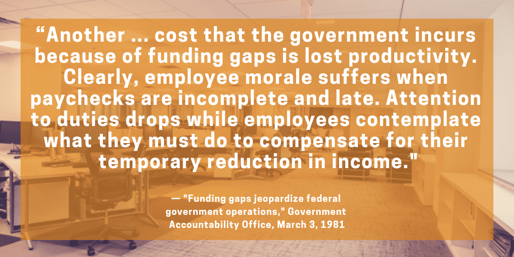Gao Recommends Legislation Re Notice Of >> Government Shutdowns Once Incomprehensible Inconceivable