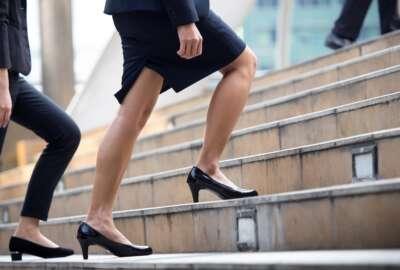 career development professional business woman office work corporate ladder