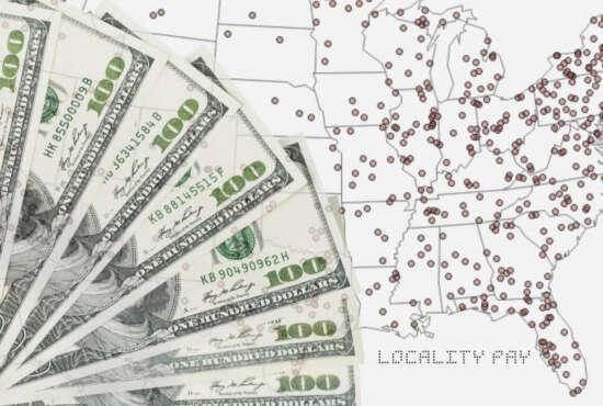 locality pay, minimum wage