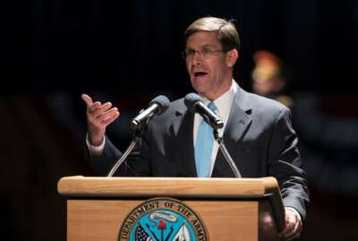 Mark Esper, Army Secretary