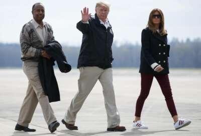 Donald Trump, Melania Trump, Ben Carson