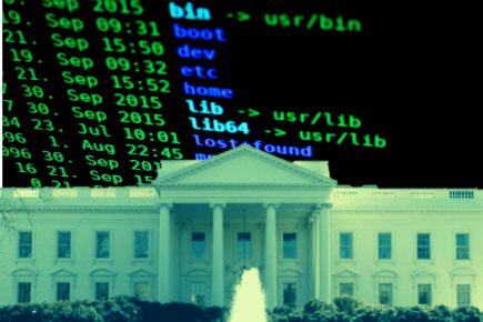 white house cybersecurity data tech