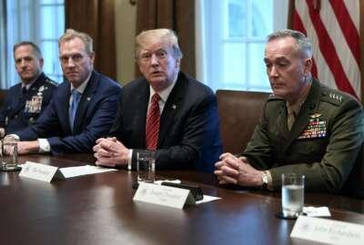 Donald Trump, Patrick Shanahan, Joseph Dunford