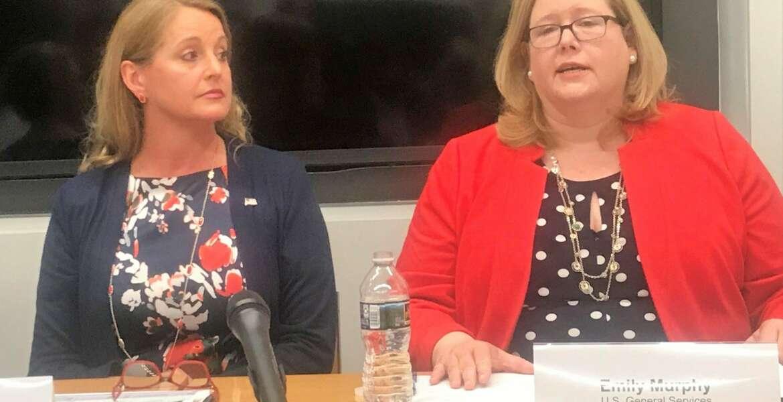 Suzette Kent, Emily Murphy, Federal CIO, GSA