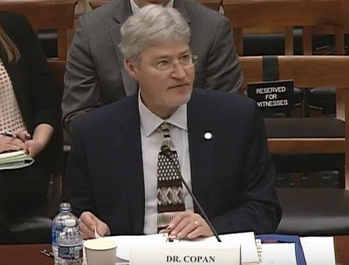 Walter Copan, NIST, National Institue of Standards and Technology