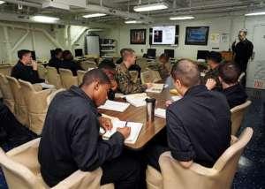 Navy, students, sailors, college, classroom