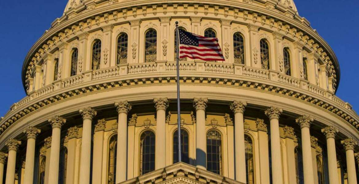 """FILE - In this March 24, 2019, file photo, the U.S Capitol is seen at sunrise in Washington. Progressive groups are expressing """"deep disappointment"""" over House Democrats' failure to start impeachment proceedings against President Donald Trump and calling on Speaker Nancy Pelosi to act. (AP Photo/Alex Brandon, File)"""