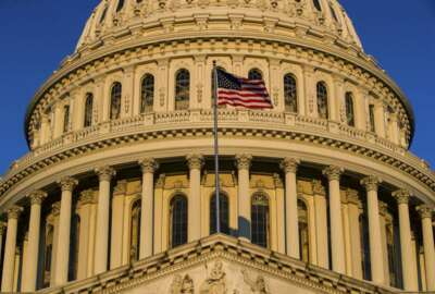 "FILE - In this March 24, 2019, file photo, the U.S Capitol is seen at sunrise in Washington. Progressive groups are expressing ""deep disappointment"" over House Democrats' failure to start impeachment proceedings against President Donald Trump and calling on Speaker Nancy Pelosi to act. (AP Photo/Alex Brandon, File)"