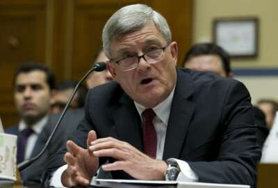 U.S. Census Bureau director Steven Dillingham testifies before the House Oversight subcommittee on Beyond the Citizenship Question: Repairing the Damage and Preparing to Count 'We the People' in 2020', hearing on Capitol Hill in Washington, Wednesday, July 24, 2019. (AP Photo/Jose Luis Magana)