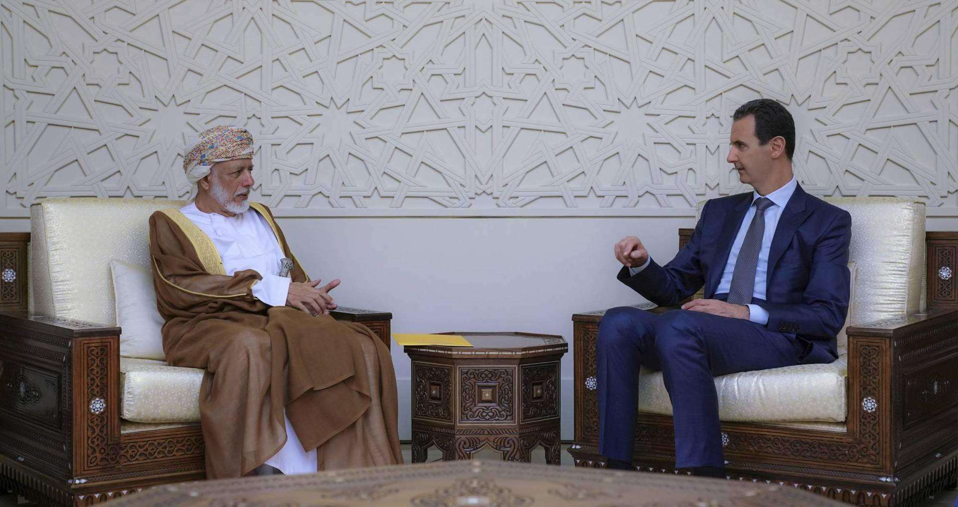 Omani foreign minister makes rare visit to Syria   Federal News Network