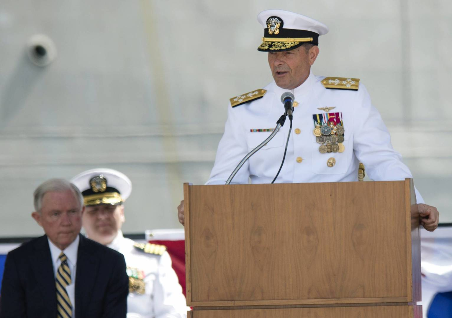 Admiral's sinking demonstrates old leadership maxim