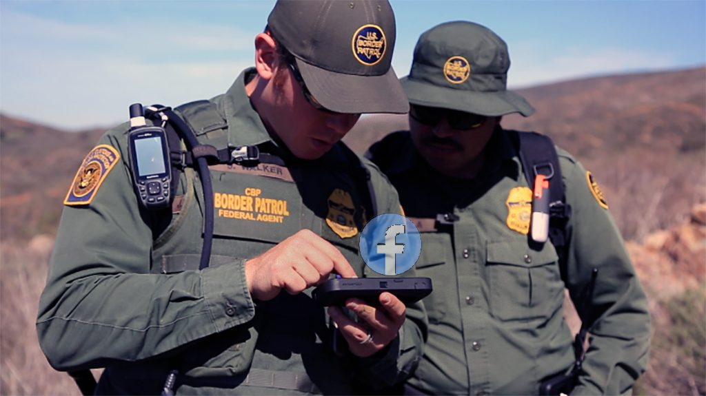 What consequences border agents could face after Facebook comments