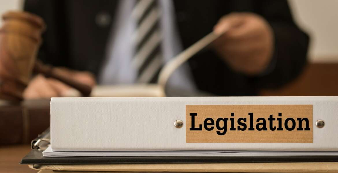 legislation document folder on the desk of the judge. Concepts of law, legal.