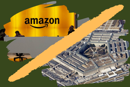 Amazon Web Services, lawsuit, Defense Department