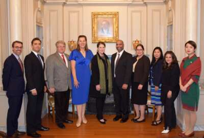 State Department, agency officials awarded the Secretary of State Award for Outstanding Volunteerism Abroad