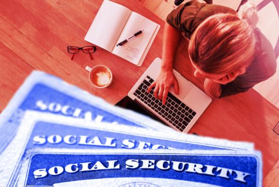 Social Security, SSA, worker, telework